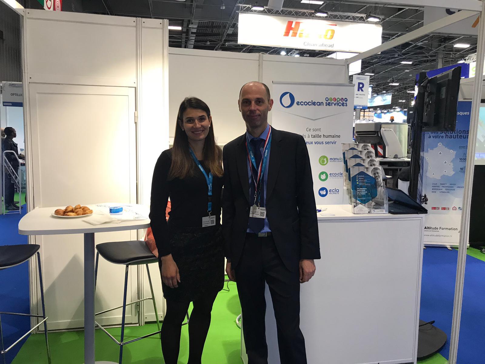 stand Ecoclean Services sur le Salon Professionnel Europropre
